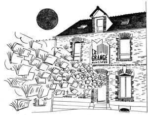Facade La Grange aux Livres